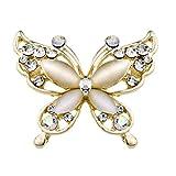Axiba Broches y alfileres Broches para Ropa Mujer Ojo de Gato Mariposa Broche Broche Accesorios joyería de Accesorios de Damas Regalos creativos