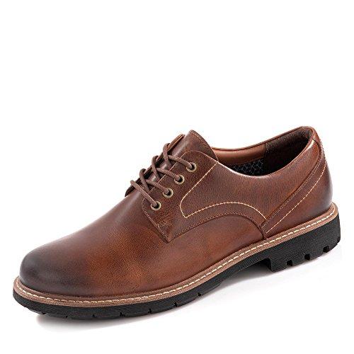Clarks Zapatos de Cordones para Hombre, Marrón