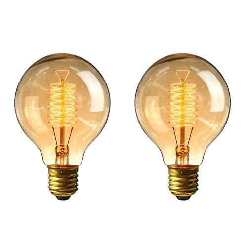 Zongha Deko GlüHbirne GlüHbirne Vintage Kleine Schraube Glühbirne E27 Vintage Glühbirnen Edison Bulb E27 E27 Edison Bulb Edison Bulbs E27 Dimmer Glühbirne 40w
