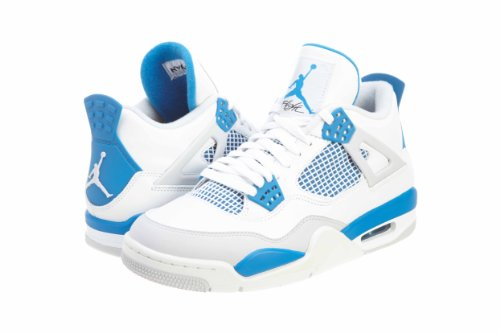 Jordan Nike Air 4 Retro Military Blue 308497-105