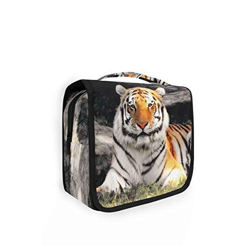XIXIKO Sac de toilette pliable à suspendre Motif tigre animal