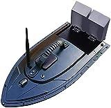 UimimiU Barco de Control Remoto Inteligente inalámbrico RC Barco Inteligente Bait Barco Almacén de Doble Capa Anidamiento 1.5kg Cargando para niños Regalo 500M Control Remoto Pesca Barco de Cebo
