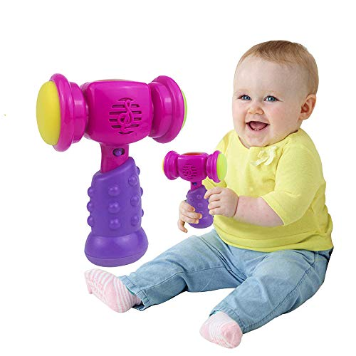 Baby Toy for 6-36 Months Boys Girls, Baby Music Hammer Toys for Toddlers Boy Girl Age 1 2 3 Birthday Gift Kids Early Education Learning Toy for 1-3 Year Old Kid Children