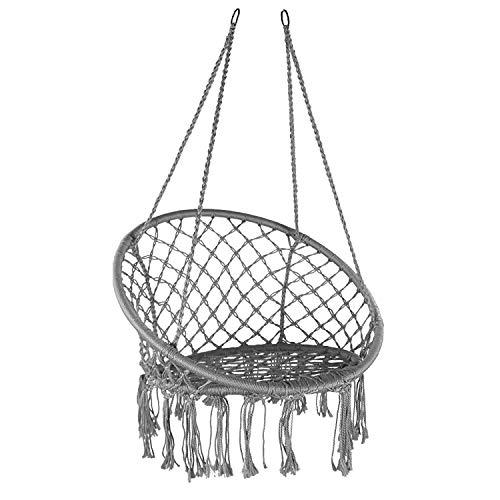Gr8 Garden Hanging Hammock Chair Outdoor Indoor Garden Patio Durable Swing...
