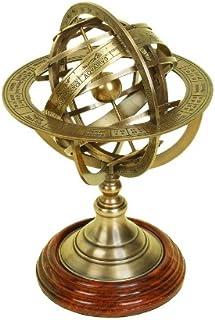 Deco 79 Brass Globe Armillary Unique Table Decor