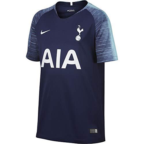NIKE Tottenham Hotspur Stadium Away - Camiseta para niño, Unisex niños, Bañadores Ajustados para Hombre, 919248, Azul y Blanco, Small