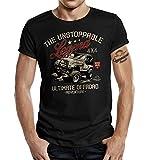 La maglietta per i fan di fuoristrada Jeep, The Unstoppable Legend Ultimate Nero M