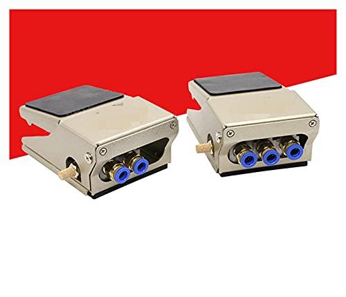JIAN Válvula de pie neumática Interruptor de pie FV320 dos posiciones cuatro o cinco a través de FV420 controlador de inversión válvula de polvo soplado exquisita (color: 8 mm, especificación: FV320)