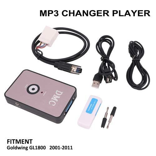 Musik-CD-Wechsler des Motorrad-Digital-MP3-Players für HON-DA Goldwing GL1800 2001-2011