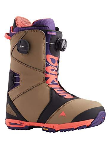 Burton Herren Snowboardboot Photon BOA, Größe:45, Farben:ash/Purple/pop red