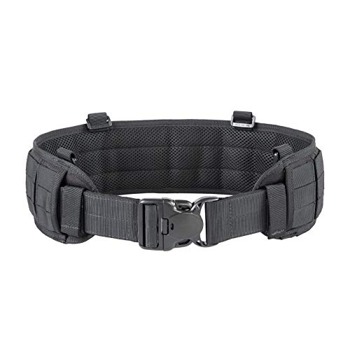 OneTigris Tactical Belt YFD16 Nylon Duty Belt with 4 d-Rings and Drop Leg Attachment