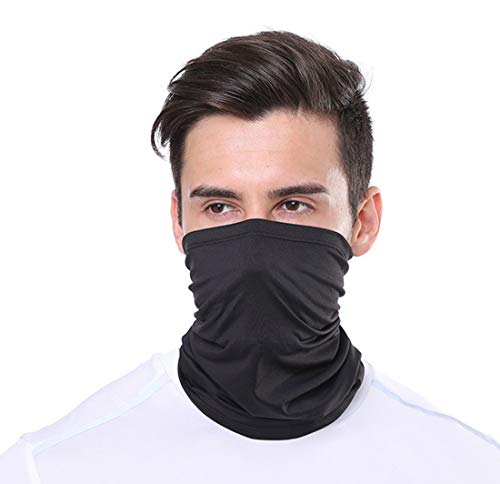 Sikye for Outdoor Sport Multifunctional Headwear Face Shield Windproof Neck Scarf Wrap Sweatband Sun Protection A