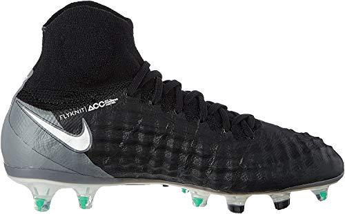Nike Nike Jr. Magista Obra II (FG) Fußballschuhe, Schwarz (Black/White/Dark Grey), 37.5 EU