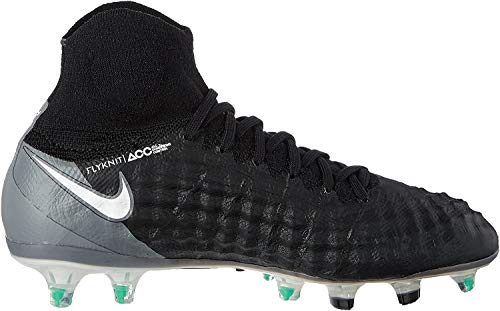 Nike Jr Magista Obra II FG, Scarpe da Calcio Uomo, Nero (Black/White/Dark Grey), 37.5 EU
