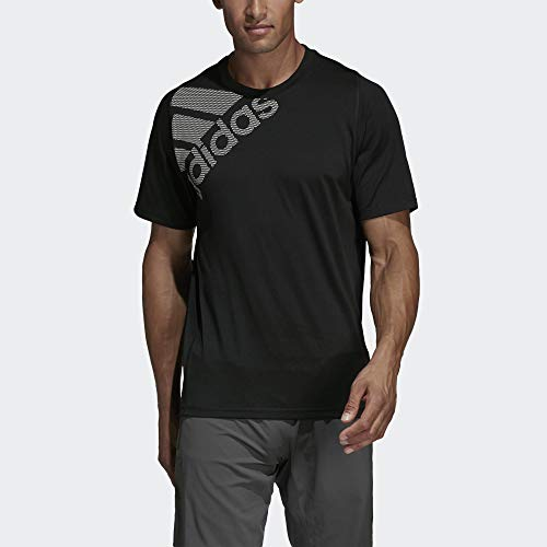 adidas Men's Freelift Sport Badge Of Sport Graphic Tee