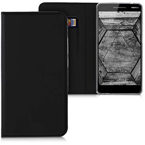 kwmobile Nokia 2.1 (2018) Cover - Custodia a Libro in Simil Pelle PU per Smartphone Nokia 2.1 (2018) - Flip Case Protettiva