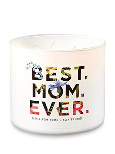 """Bath & Body Works """" Best. MOM. Ever. Scented Candle in Fresh Cut Lilacs"""