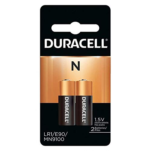 Duracell Coppertop Alkaline Medical Battery, N, 1.5V, 2 Pack