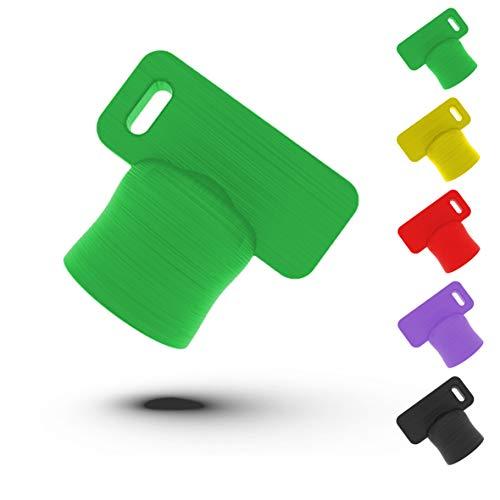 Liebspecht® Premium Teiglöser für Thermomix TM6 und TM5 [Made in Germany] - Das optimale Thermomix Zubehör - Die Teigblume für Ihre Küchenmaschine von Vorwerk -TM5, TM6 Zubehör (Hell Grün)