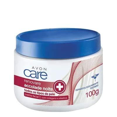 Avon Care Renovare Accolade Creme Facial Revitalizante e Firmador Noite 100g