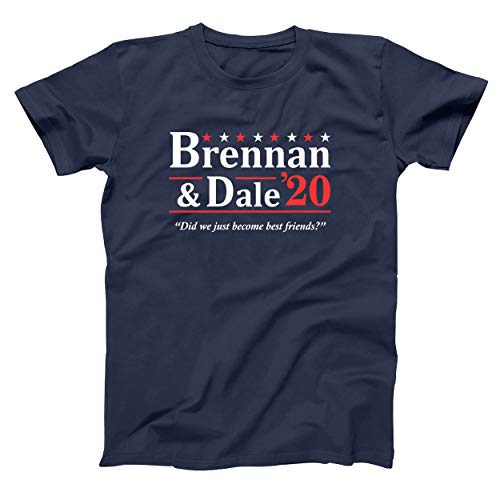 Brennan Dale 2020 Step Brothers Prestige Worldwide Mens Shirt Small Navy
