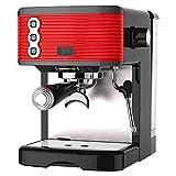 3,5 Bar Vapor Cappuccino Y Latte Maker Professional Eléctrico Espresso Cappuccino Cafetera Máquina De Café Moka Con Leche Espumejea Brazo Ministerio Del Interior (RED)