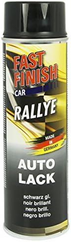 Motip Dupli 292835 Fast Finish Lackspray Schwarz Glänzend 500 Ml Auto