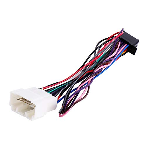 RDBS Car Wire Harness Kit to Install an Aftermarket Stereo Receiver Fit for 1998-2011 Hon.da and Acura Vehicles