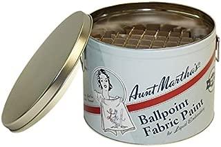 Aunt Martha's Ballpoint Paint Storage Color Caddie, Empty