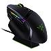Razer Basilisk Ultimate HyperSpeed Wireless Gaming Mouse w/ Charging Dock 20K DPI Optical Sensor - Chroma RGB - 11 Programmable Buttons - 100 Hr Battery - Classic Black (Renewed)