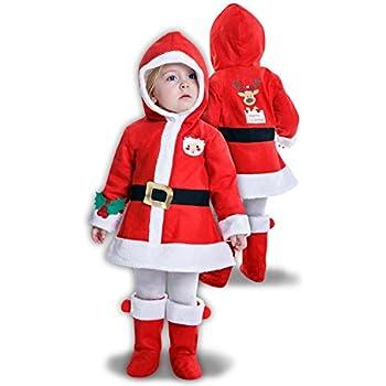 Disfraz de Mama Noel para niña: Amazon.es: Juguetes y juegos