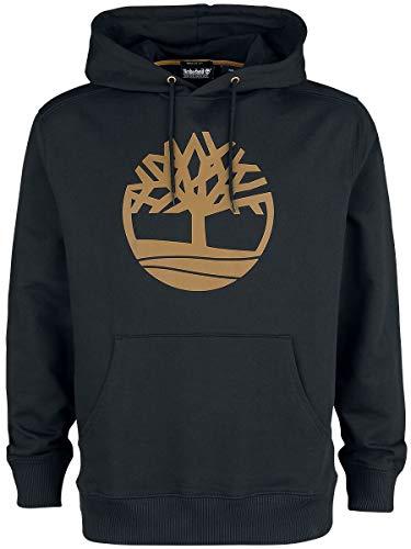 Timberland Core Logo Tree Hoodie Männer Kapuzenpullover schwarz S