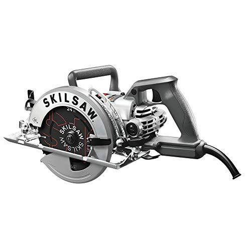 SKILSAW SPT77W-01 15-Amp 7-1/4-Inch Aluminum Worm Drive Circular Saw