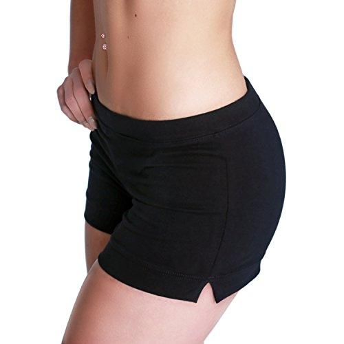 Shepa Damen kurze Fitness Shorts Hot Pants Hose M