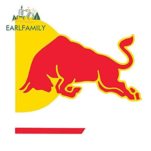 JYIP 15 cm x 5,6 cm para Red Bull Racing Gráficos Pegatinas de Coche Calcomanías de Equipo de Fórmula 1 Vinilo Cuerpo del Coche Etiqueta de Parabrisas Estilo A