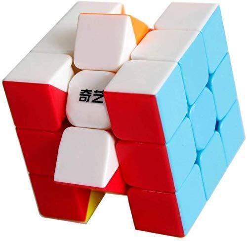 OJIN Warrior W 3x3 Cube Smooth Puzzle Warrior W 3 Capas Yongshi 3x3x3 Smooth Cube (Sin Etiquetas)