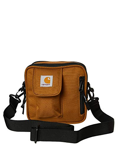 Carhartt WIP Heren schoudertas Essentials Bag, Small Brown One Size