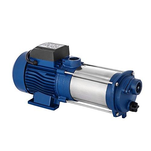 Bisujerro 2200 W centrifugaalpomp 160 l/min elektrische waterpomp centrifugaalpomp voor huis, tuin, sin interruptor, 1