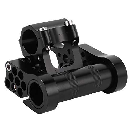 Bike Parts, Bike Double Stem, Double Stem Adjustable Folding 25.4 CNC Folding Bike for Bike Accessory Bicycle