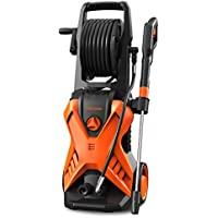 Paxcess 3000-PSI 1.76-GPM Electric Power Washer with Hose Reel (Orange)
