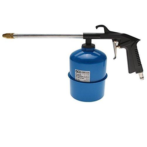 BGS Druckluft-Sprühpistole 100 ccm Reinigungspistole Farbspritzpistole Spritzpistole Sprühpistole Farbsprühpistole