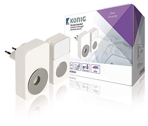 König sas-wdb301 draadloze deurbel kit (110 – 240)