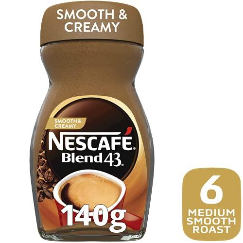NESCAFÉ Blend 43 Smooth and Creamy Instant Coffee 140g Glass Jar