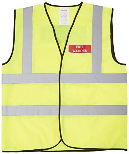 Westguard ivgfvw de sécurité Fire WARDEN, Haute Visibilité, pour femme, taille XL, Jaune