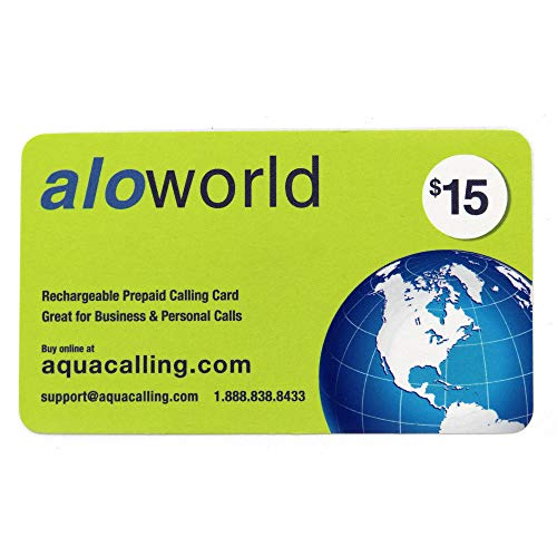 $15 Prepaid Phone Card for Domestic & International Calls, Calling Cards with No Expiration, Just Call us to Extend, No Pay Phone Fee by Using 1.800.630.0923.