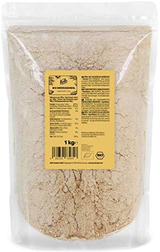 KoRo - Bio Erdnussmehl teilentölt 1 kg - Mehl aus 100 % Erdnüsse ohne Zusätze