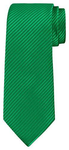 BomGuard Corbata para hombre de 8 cm de ancho con tiras finas verde Talla única
