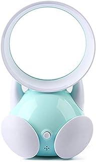 QYWSJ Mini Ventilador de Mesa Sin Cuchillas, con USB Recargable, Viento Fuerte, Funcionamiento Silencioso, para El Hogar, Oficina, Viajes Al Aire Libre, Seguro para El Bebé