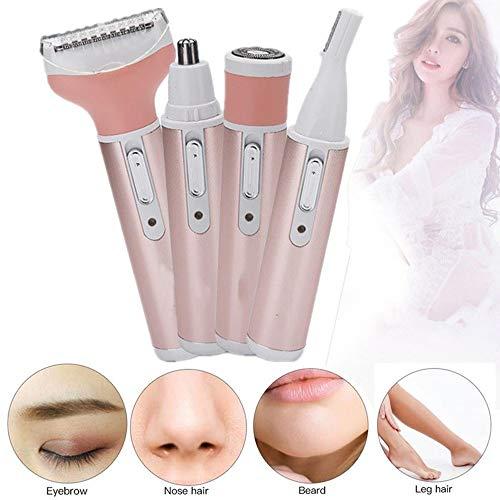 WanuigH Neuspiercing voor mannen en vrouwen thuis 4 in 1 neushaartrimmer trimmer facial trimmer voor eenvoudige reiniging