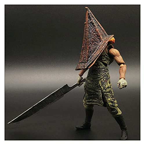 VBCGGGG Figura de acción de Colina silenciosa Cosas de la pirámide roja Figma Figura de acción Horrible Coleccionables de Silent Hill: Apocalipsis 15cm Action Figures